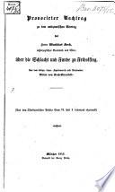 Provocirter Nachtrag zu dem antiquarischen Vortrag des Herrn Matthias Koch, über die Schlacht und Hunde zu Fridolfing