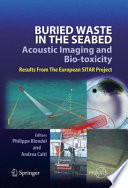 Buried Waste In The Seabed Acoustic Imaging And Bio Toxicity