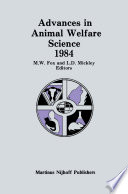 Advances in Animal Welfare Science 1984