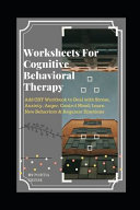 Worksheets For Cognitive Behavioral Therapy