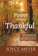 The Power of Being Thankful Pdf/ePub eBook