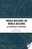 World Builders on World Building