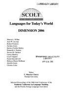 Languages for Today s World