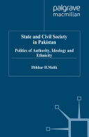 State and Civil Society in Pakistan
