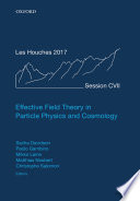 Effective Field Theories in Particle Physics and Cosmology Book