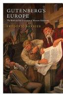 Pdf Gutenberg's Europe Telecharger