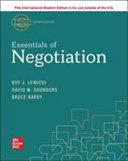 Cover of Essentials Of Negotiation