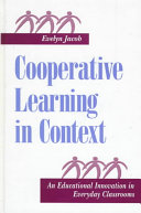 Cooperative Learning in Context: An Educational Innovation ...