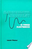 EMC in Power Electronics Book