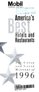 Mobil  America s Best Hotels and Restaurants