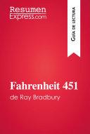 Pdf Fahrenheit 451 de Ray Bradbury (Guía de lectura) Telecharger