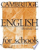 Cambridge English for Schools 1 Workbook