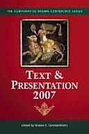Text   Presentation  2007