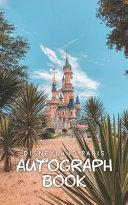 Disneyland Paris Autograph Book