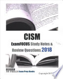 CISM Examfocus Study Notes & Review Questions 2018