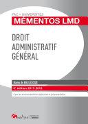 Droit administratif général 2017-2018