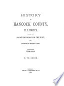 History Of Hancock County Illinois