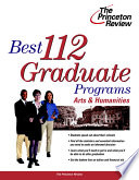Complete Book of Graduate Programs in the Arts and Sciences