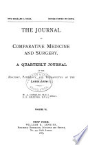 The Journal of Comparative Medicine and Surgery