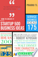 """Startup 500 Business Ideas: Business Strategies and 500 Business How to Start"" by Prabhu TL, Ashin Issac, Rajil TL"