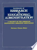 Handbook of Research on Educational Administration  : A Project of the American Educational Research Association