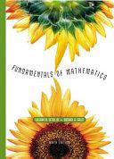 Fundamentals of Mathematics Book