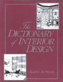 The dictionary of interior design