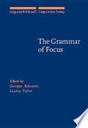 The Grammar Of Focus Book PDF