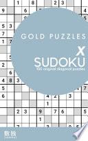 Gold Puzzles X Sudoku Book 1