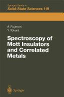Spectroscopy of Mott Insulators and Correlated Metals