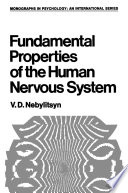 Fundamental Properties of the Human Nervous System Book