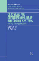 Classical and Quantum Nonlinear Integrable Systems [Pdf/ePub] eBook