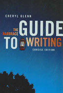The Harbrace Guide to Writing, Concise Edition