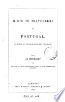 Hints to travellers in Portugal
