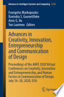 Advances in Creativity  Innovation  Entrepreneurship and Communication of Design