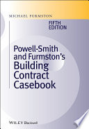 Powell9 Smith And Furmston S Building Contract Casebook Book PDF