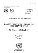 Forest And Forest Products Country Profile