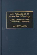 The Challenge of Same sex Marriage