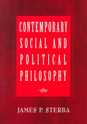 Contemporary Social and Political Philosophy