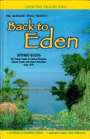 Back to Eden Book