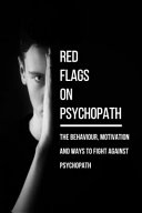 Red Flags On Psychopath Book