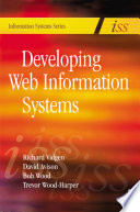 Developing Web Information Systems Book