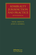 Admiralty Jurisdiction and Practice [Pdf/ePub] eBook