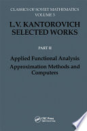 Applied Functional Analysis  Approximation Methods and Computers