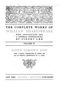 The Complete Works of William Shakespeare: Love's labour's lost. Merchant of Venice