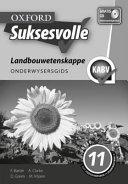Books - Oxford Suksesvolle Landbouwetenskappe Graad 11 Onderwysersgids | ISBN 9780199048199