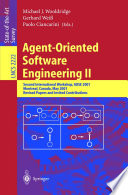 Agent Oriented Software Engineering Ii