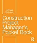 Construction Project Manager   s Pocket Book