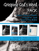 Grasping God s Word Pack Book PDF