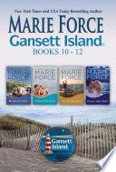 Gansett Island Boxed Set Books 10-12